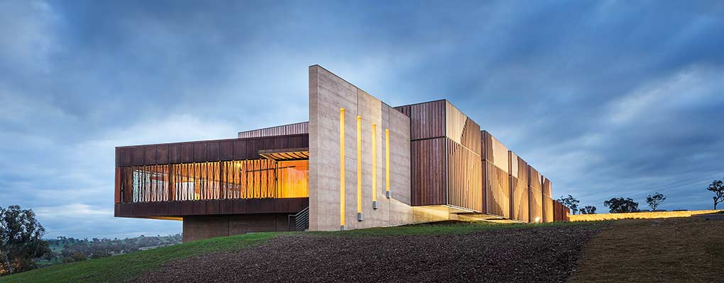 Rammed Earth - Garangula Art Gallery