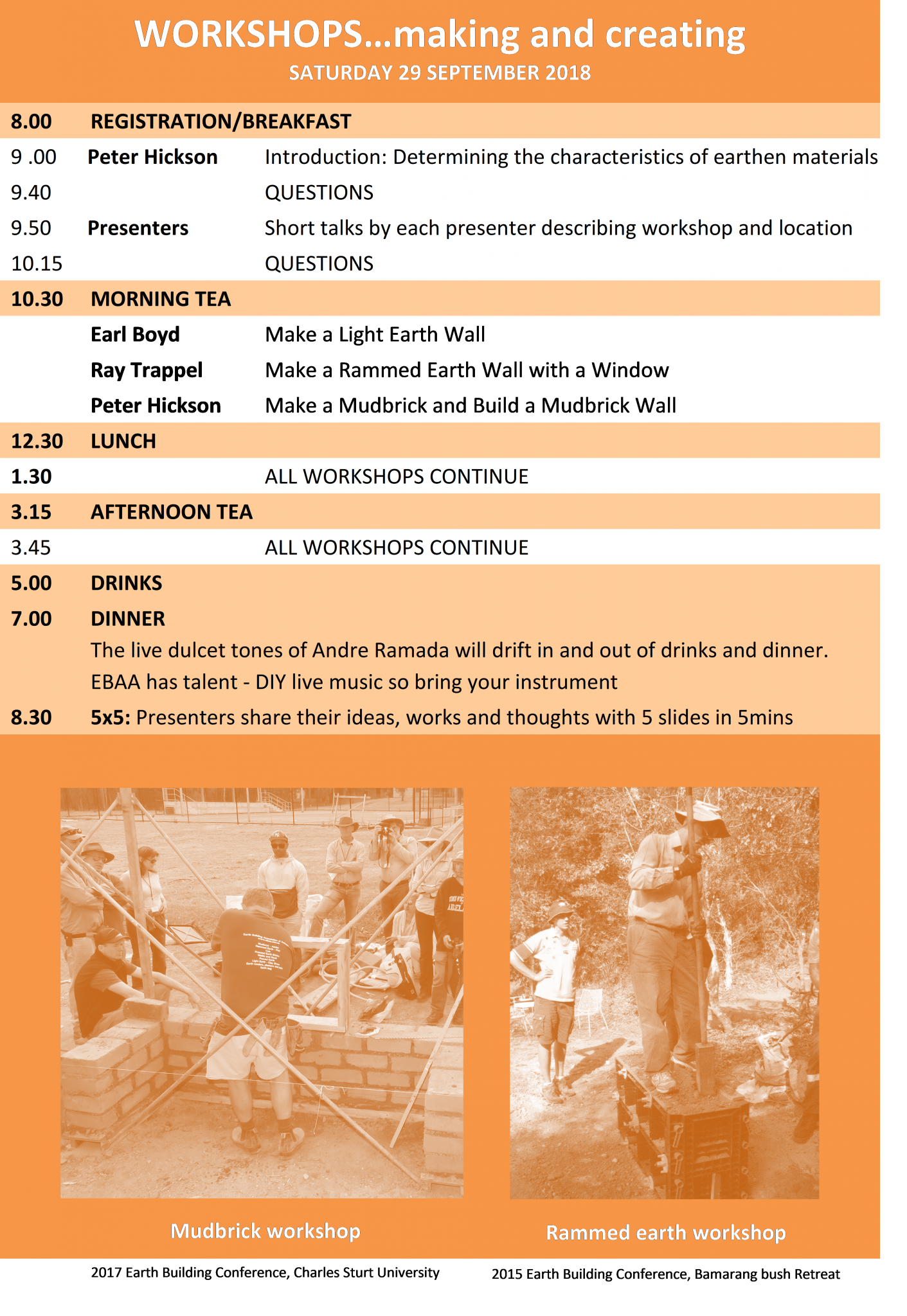 2018 Conference Programme DAY 2